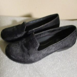DANSKO ~ OLIVIA BLACK CALF HAIR SHOES ~ 7 ~ 37